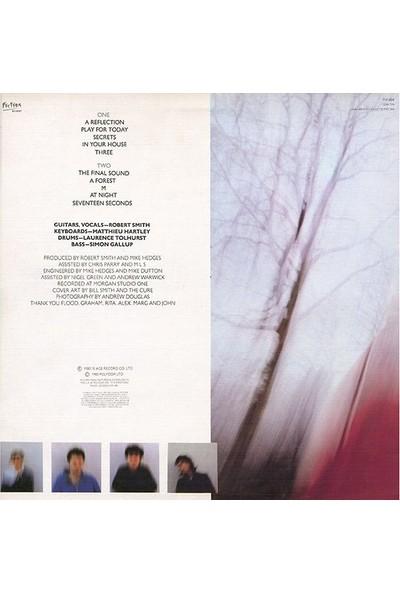 The Cure Seventeen Seconds Picture Disc Plak
