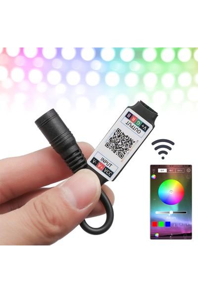 Meltis Bluetooth Cep Telefonundan Rgb Şerit LED Kontrol Modülü