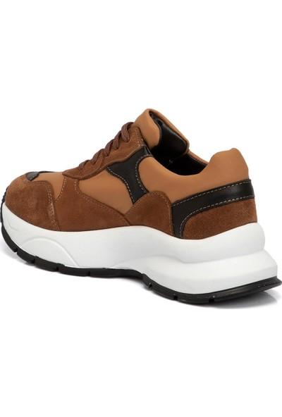 Tergan Taba Kadın Deri Ayakkabı 65305K59