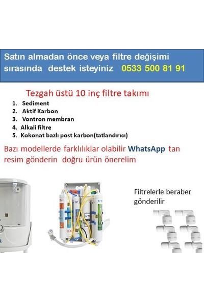 Netsu Su Arıtma Cihazı Filtresi 5'li Filtre Seti