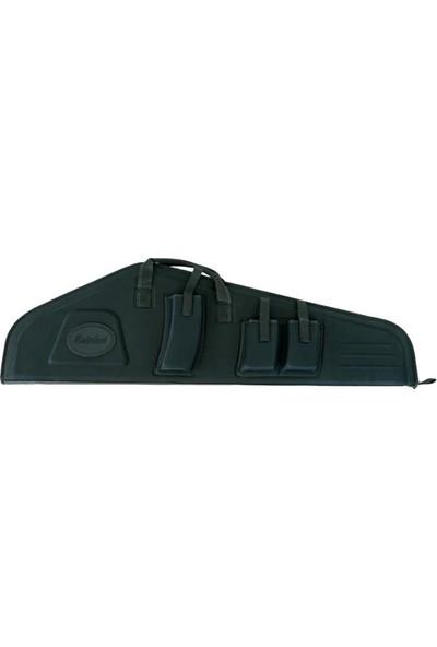 Hunterland Siyah 112 cm Şarjörlü Cepli Tüfek Kılıfı