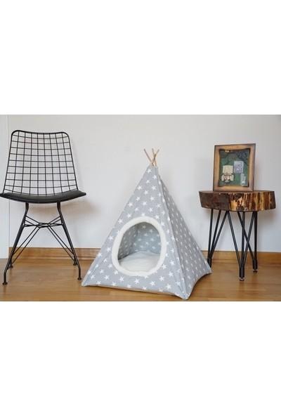 Coco Pet Yıldız Desenli Kedi Köpek Çadırı