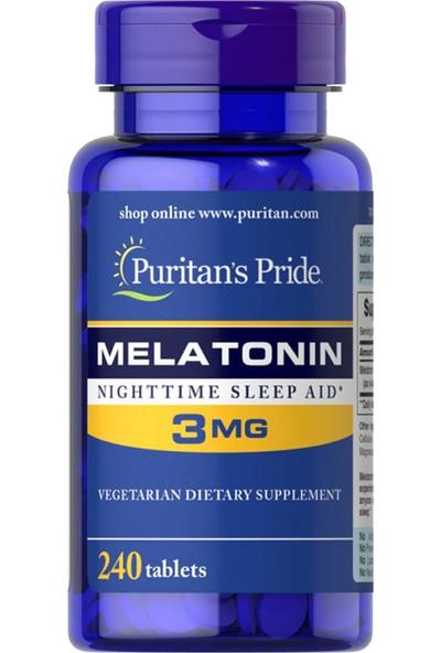 Puritan's Pride Melatonin 240 Tablet 2 Mg