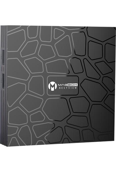 Magbox Bestvıew 4gb Ddr3 Ram 32GB Hafıza Dahili Wifi Androıd Tv Box