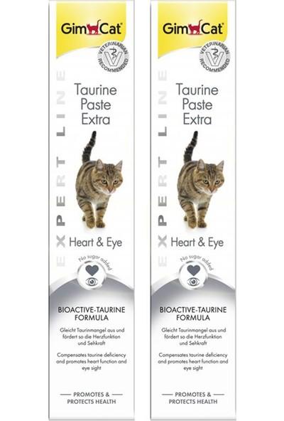 Gimcat 2 Adet Taurine Paste Kalp ve Göz Sağlığı Destekleyici Taurinli Kedi Macunu 50 gr x 2 = 100 gr ARDA005