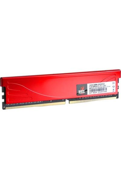 Dragos 16 GB Ddr4 3000 Mhz Kırmızı Soğutuculu Pc Ram