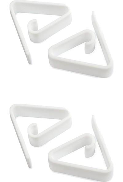 cmk Plastik Masa Örtüsü Mandalı Klasik 4'lü Masa Örtü Kıskacı