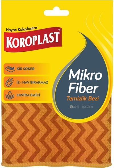 Koroplast Mikrofiber Temizlik Bezi