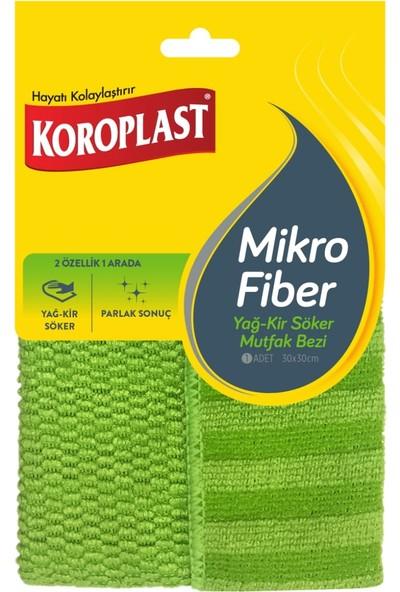Koroplast Mikrofiber Yağ - Kir Söker Mutfak Bezi