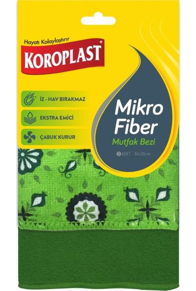 Koroplast Mikrofiber Mutfak Bezi 2'li