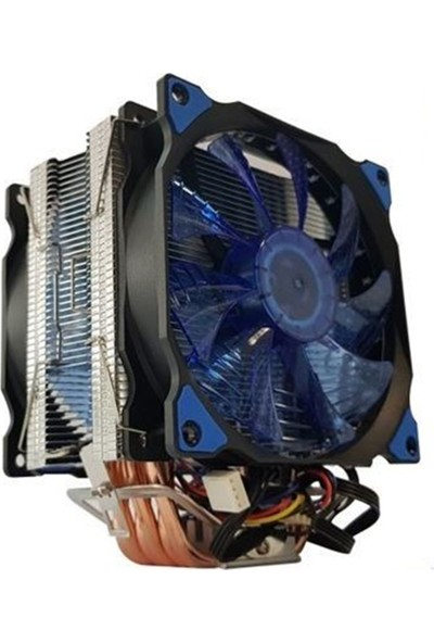 Snowman T6 Cpu Fan - Mavi