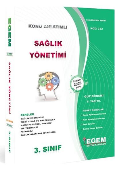 AÖF 3. Sınıf Sağlık Yönetimi Konu Anlatımlı Soru Bankası-Güz Dönemi(5. Yarıyıl)