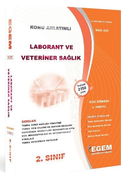 AÖF 2. Sınıf Laborant & Veteriner Sağlık Konu Anlatımlı Soru Bankası-Güz Dönemi(3. Yarıyıl)
