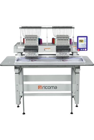 Ricoma MT-1202-8S Iki Kafa 12 Iğne Nakış Makinesi