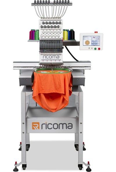Ricoma PV-1501-7S Tek Kafa 15 Iğne Nakış Makinesi