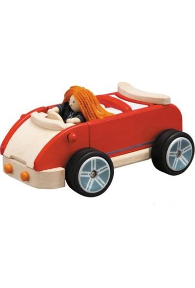 Plantoys Kırmızı Spor Aile Arabası