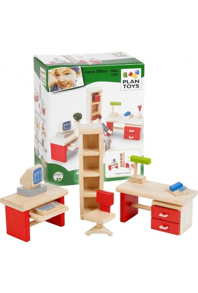 Plan Toys Oyun Evi Aksesuarı Home Ofis
