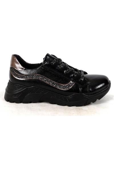 Ustalar Ayakkabı Siyah Kız Çocuk Spor Ayakkabı 457.831