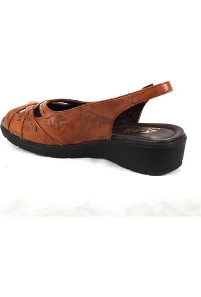 Ustalar Ayakkabı Taba Kadın Dolgu Sandalet 278.822