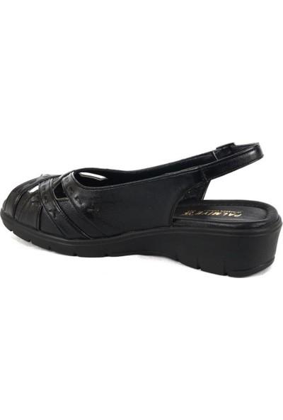 Ustalar Ayakkabı Siyah Kadın Dolgu Sandalet 278.822
