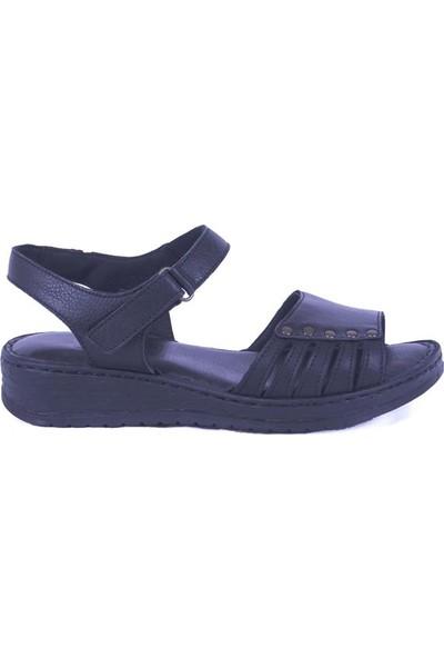 Ustalar Ayakkabı Siyah Kadın Sandalet 530.600