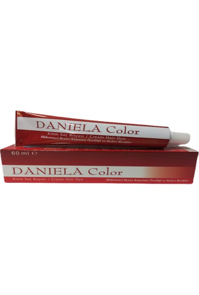 Daniela Color Saç Boyası Koyu Kumral 6