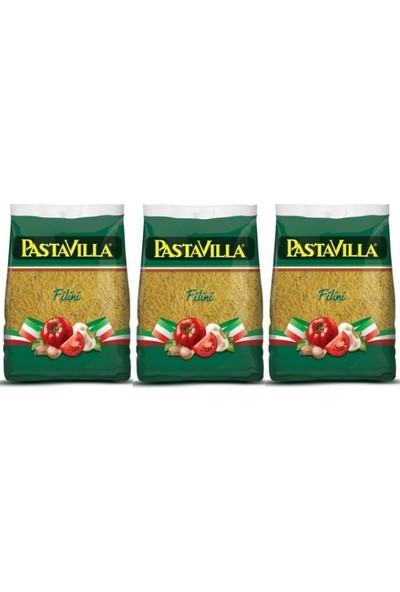 Pastavilla Tel Şehirye 500 gr x 3