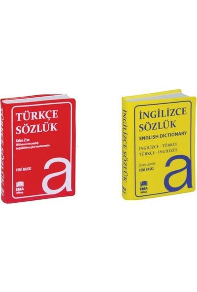 Ema Kitap Türkçe Sözlük - Ingilizce Sözlük Seti