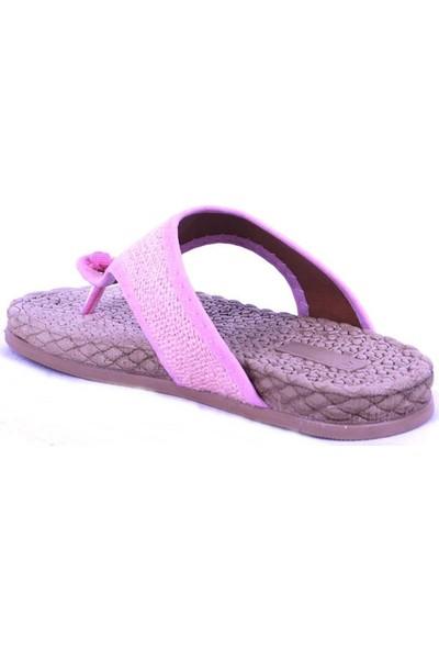 Ustalar Ayakkabı Pudra Kadın Parmak Arası Terlik 532.15
