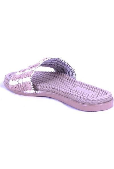 Ustalar Ayakkabı Beyaz Kadın Terlik 097.1005.Y.T.818