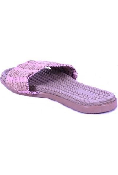 Ustalar Ayakkabı Pembe Kadın Terlik 097.1005.Y.T.818