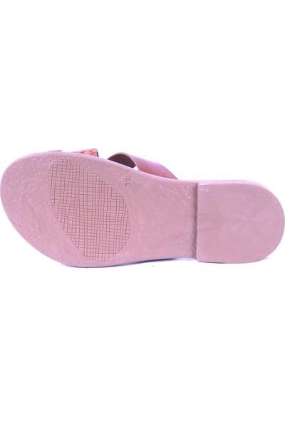 Ustalar Ayakkabı Taba Kadın Parmak Arası Terlik 539.01