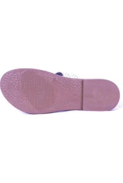 Ustalar Ayakkabı Beyaz Kadın Parmak Arası Terlik 539.02