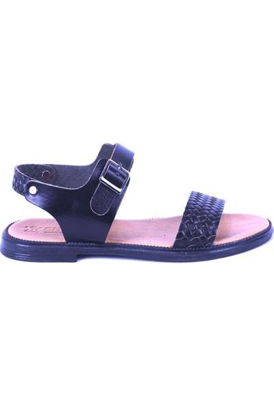 Ustalar Ayakkabı Siyah Kadın Sandalet 539.03
