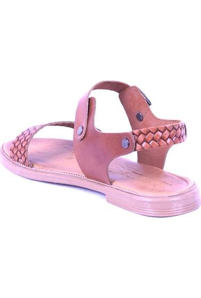 Ustalar Ayakkabı Taba Kadın Sandalet 539.03