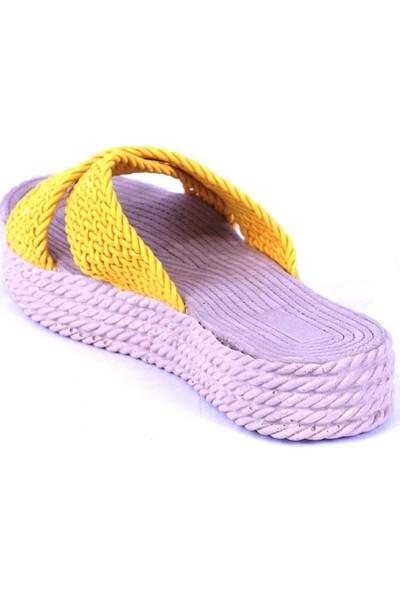 Ustalar Ayakkabı Sarı Kadın Terlik 475.105