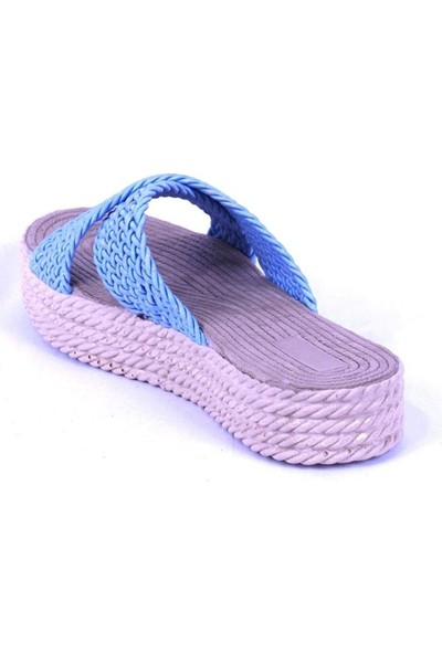Ustalar Ayakkabı Mavi Kadın Terlik 475.105