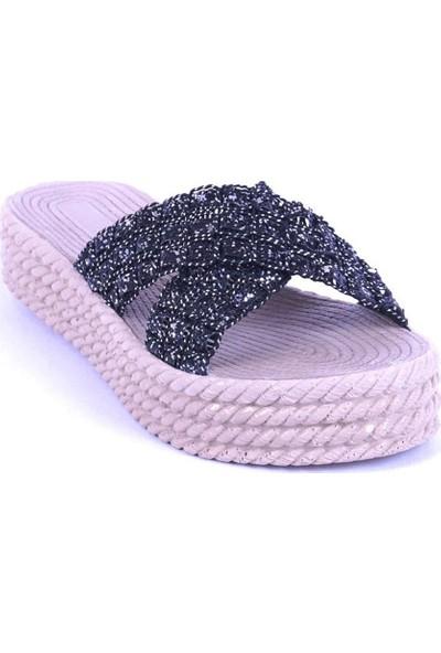 Ustalar Ayakkabı Siyah Kadın Terlik 475.204
