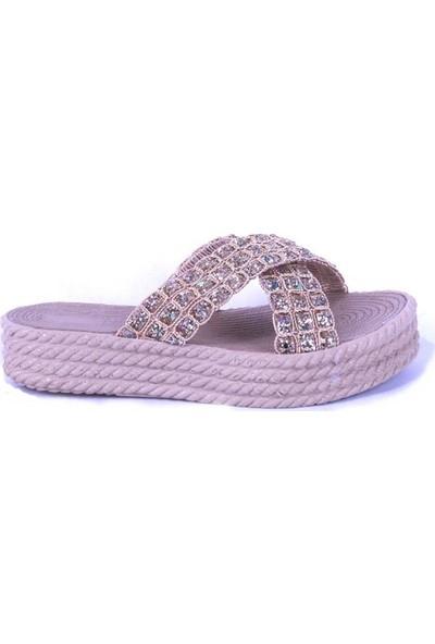Ustalar Ayakkabı Gold Kadın Terlik 475.204