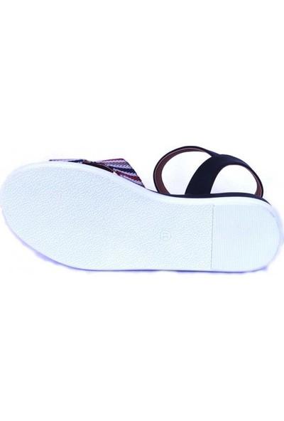 Ustalar Ayakkabı Siyah Kadın Sandalet 319.02.605
