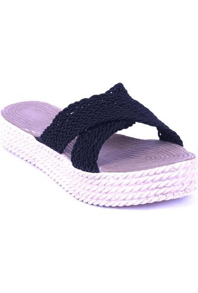 Ustalar Ayakkabı Siyah Kadın Terlik 475.105