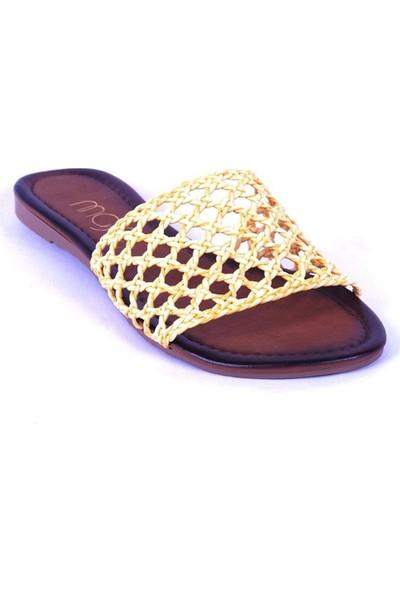 Ustalar Ayakkabı Sarı Kadın Terlik 036.7153