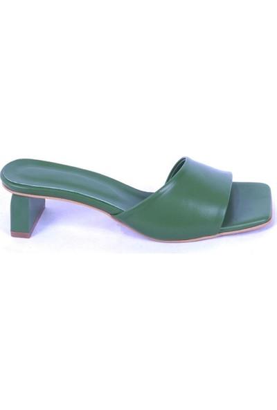 Ustalar Ayakkabı Yeşil Kadın Terlik 283.200