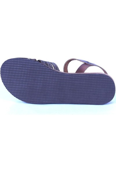 Ustalar Ayakkabı Taba-Altın Kadın Sandalet 319.00002