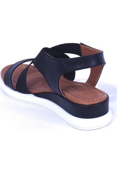 Ustalar Ayakkabı Siyah Kadın Sandalet 319.603