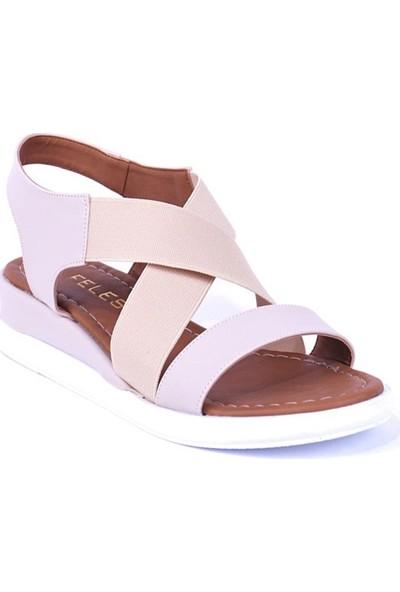 Ustalar Ayakkabı Bej Kadın Sandalet 319.603