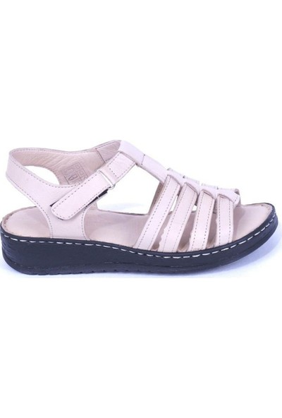 Ustalar Ayakkabı Bej Kadın Sandalet 530.434