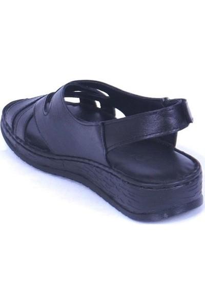 Ustalar Ayakkabı Siyah Kadın Sandalet 530.433