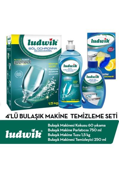 Ludwik 4 Lü Bulaşık Makine Temizleme Seti