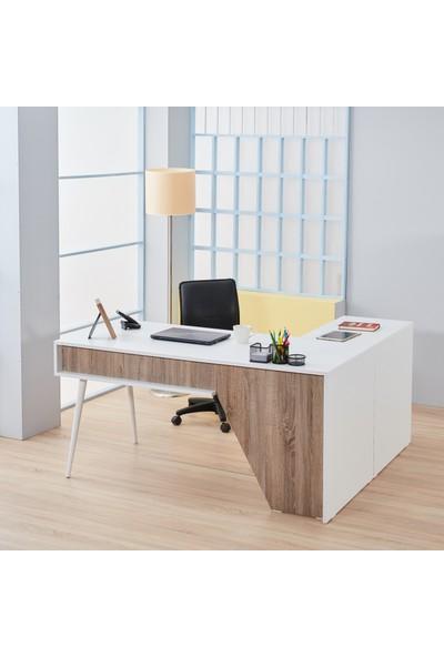 Adetto Granat Ofis Çalışma Masası